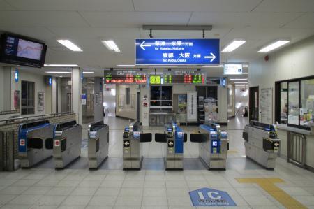 瀬田駅改札口