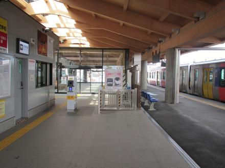 常陸太田駅3