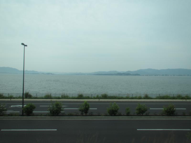 山陰線宍道湖