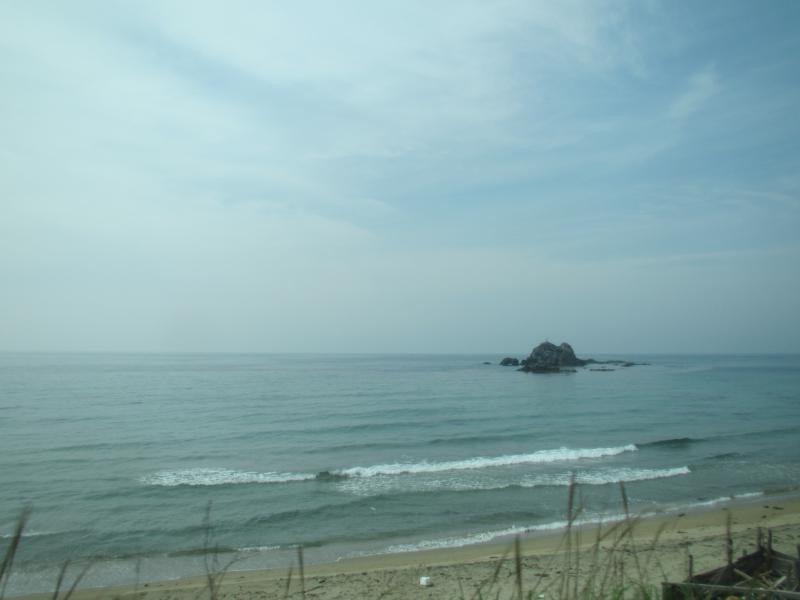 山陰線日本海
