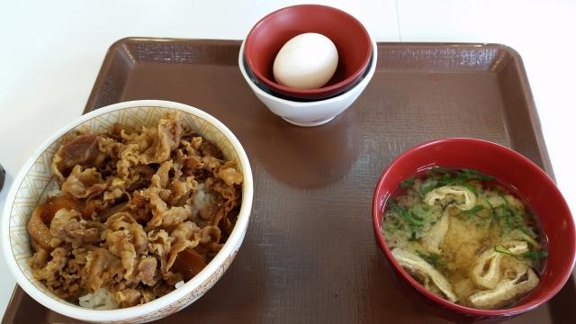 6.18すき屋の牛丼