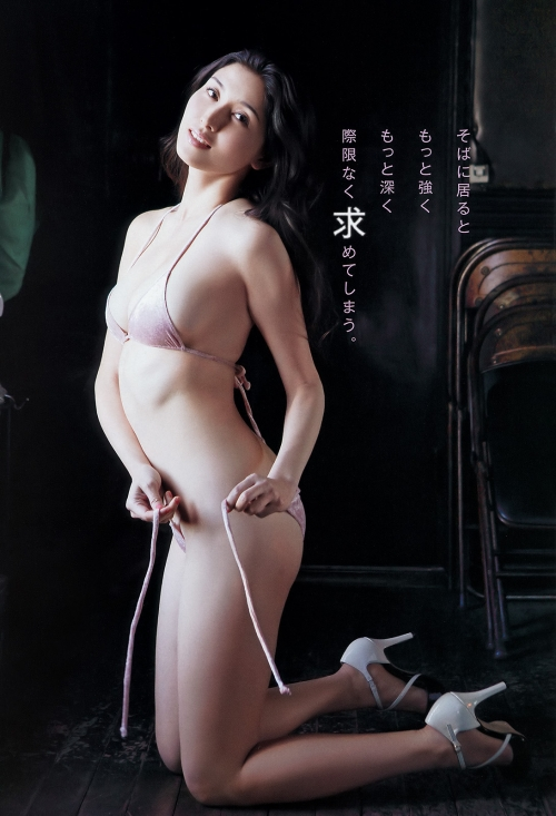 橋本マナミ Gカップ グラビア 07