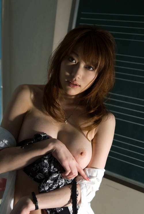 星野あかり Eカップ AV女優 女教師 08