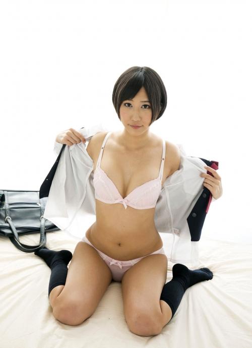湊莉久 Dカップ AV女優 制服 コスプレ 14