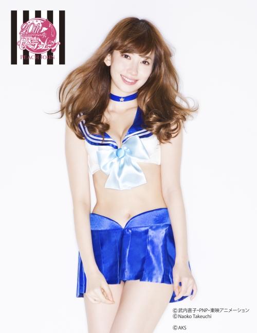 小嶋陽菜 こじはる AKB48 セラムン ランジェリー 03