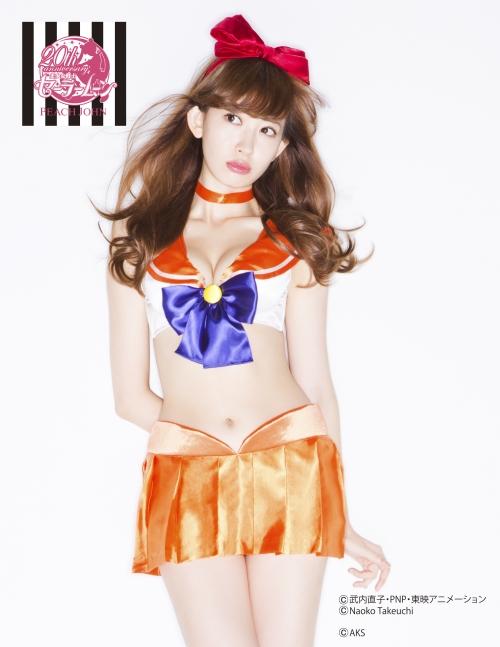 小嶋陽菜 こじはる AKB48 セラムン ランジェリー 06
