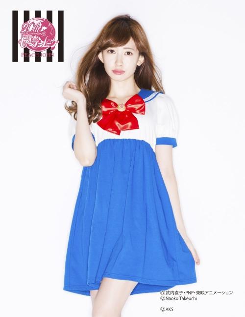 小嶋陽菜 こじはる AKB48 セラムン ランジェリー 12