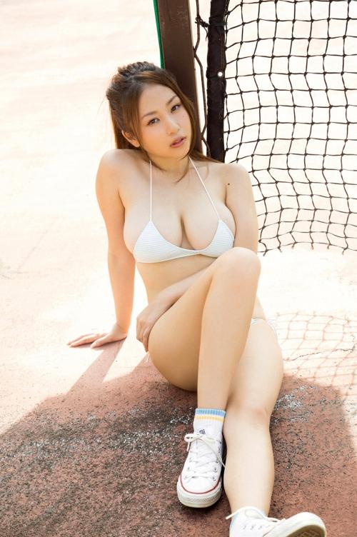 西田麻衣 Iカップ グラビア 爆乳 31