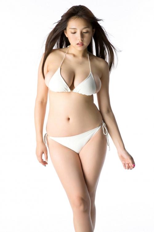 篠崎愛 Gカップ グラビア ワイシャツ 白水着 29