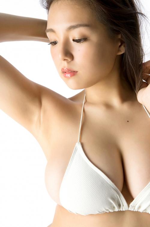 篠崎愛 Gカップ グラビア ワイシャツ 白水着 35