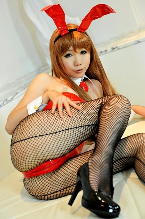 バニーガール コスプレ 26