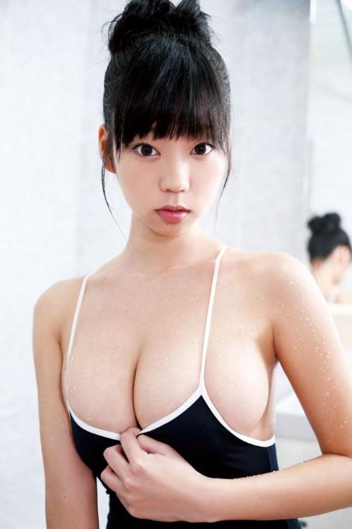 青山ひかる Iカップ グラビア 爆乳 14