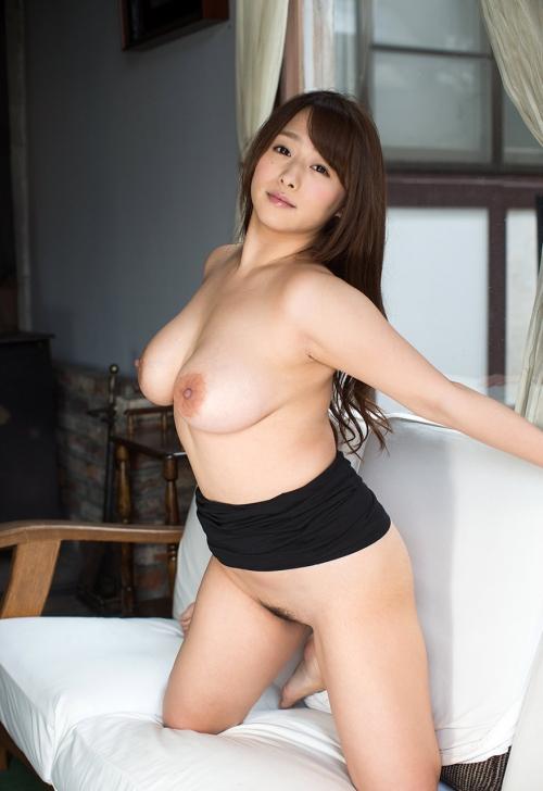 白石茉莉奈 Gカップ AV女優 人妻 24