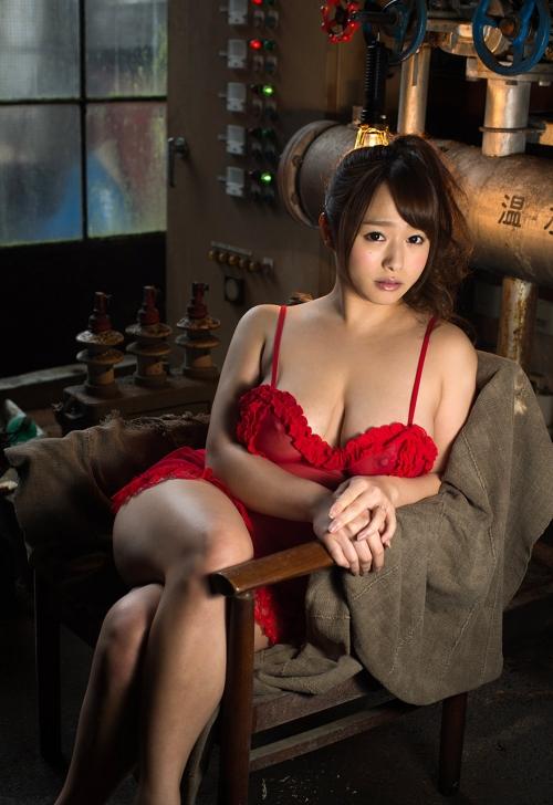 白石茉莉奈 Gカップ AV女優 人妻 57