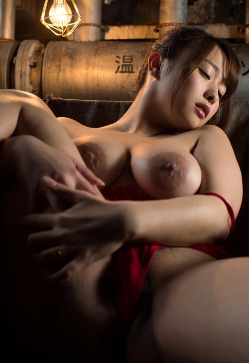 白石茉莉奈 Gカップ AV女優 人妻 74