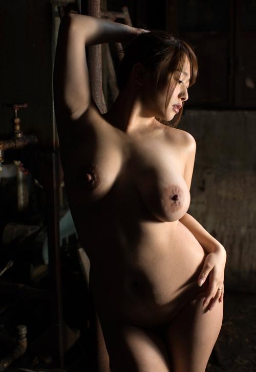 白石茉莉奈 Gカップ AV女優 人妻 79