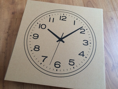 無印良品 無印 良品週間 購入品 買った アナログ時計・大 掛け時計 ブラック