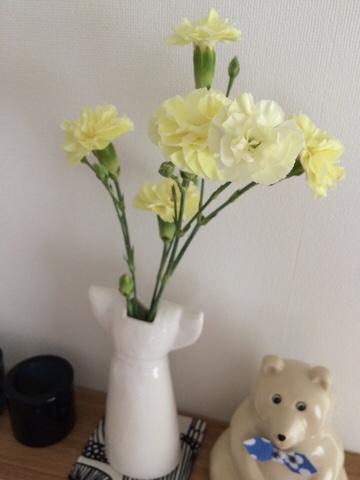 クリザール カーネーション リサラーソン リサ・ラーソン ワードローブ ドレス 一輪挿し 花器 花瓶 フラワーベース オブジェ