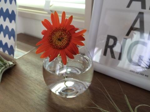 ガーベラ ホルムガード フローラ ベース フラワーベース 花器 花瓶