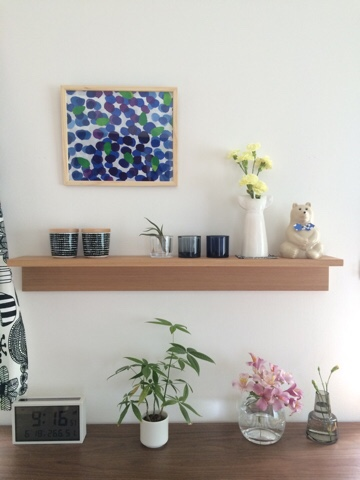 無印良品 無印 良品週間 muji 壁に付けられる家具 棚 88cm 飾り棚