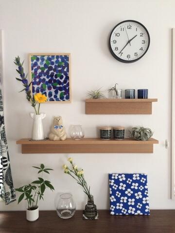 無印良品 無印 muji MUJI 壁に付けられる家具・棚 飾り棚 ディスプレイ リビング 北欧インテリア 北欧雑貨 夏