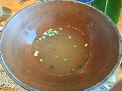 木灰スープ