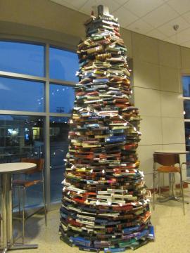 図書館のクリスマスツリー,6, 2014-12-3