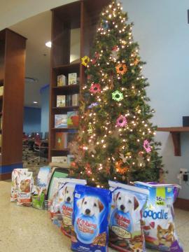 図書館のクリスマスツリー,3, 2014-12-3