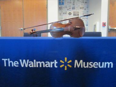 ウォールマートミュージアムで弦楽カルテット-1, 2015-2-21