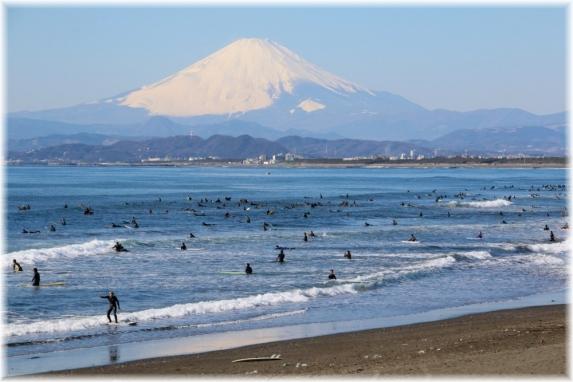 150118E 061富士山と辻堂海岸32