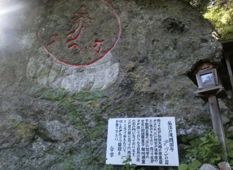 弘法の瀧 護国寺 (4)
