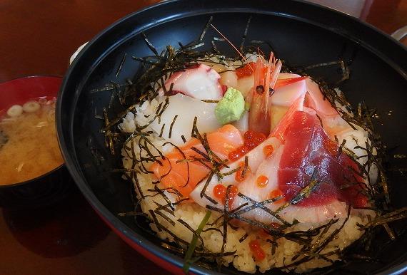 141201水戸海鮮問屋の海鮮丼