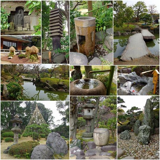 150225清澄庭園コラージュ