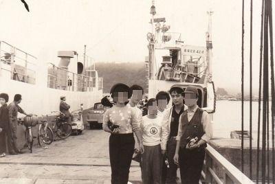 1965厚岸フェリーボート