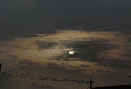 カラスと夕焼け雲 044