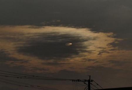 カラスと夕焼け雲 033