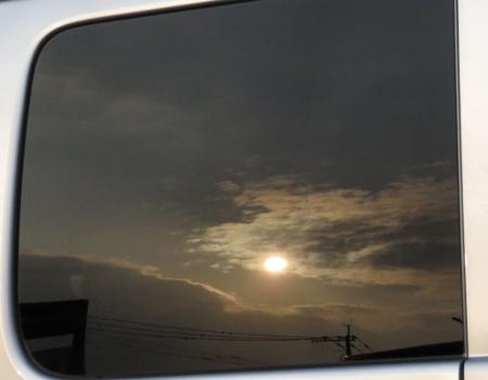 カラスと夕焼け雲 069