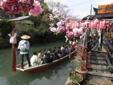 雛祭り嫁入り舟 076