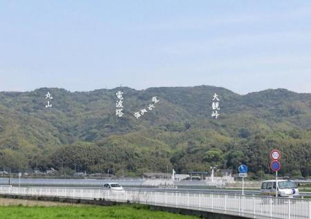 清水山とイトトンボ 260