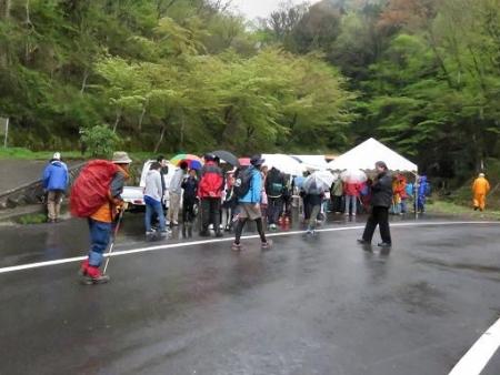 カラ迫岳山開き 白いリンドウ 036