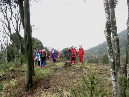 カラ迫岳山開き 白いリンドウ 132