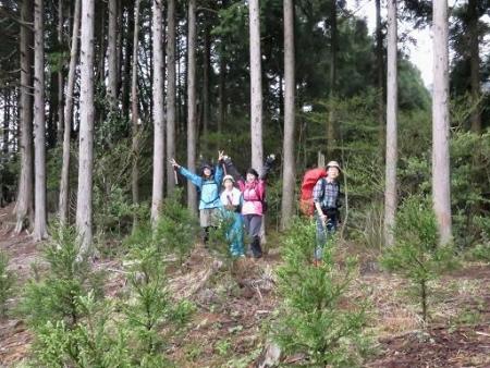 カラ迫岳山開き 白いリンドウ 129