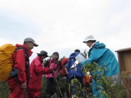 カラ迫岳山開き 白いリンドウ 150