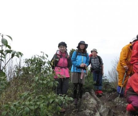 カラ迫岳山開き 白いリンドウ 153