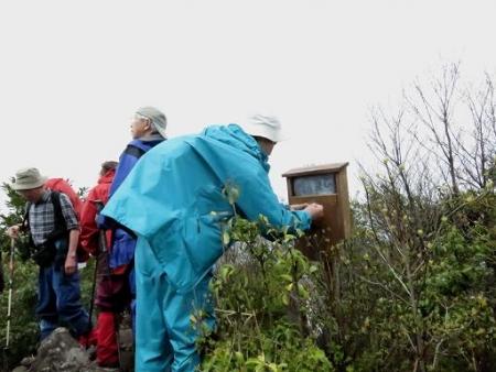 カラ迫岳山開き 白いリンドウ 148