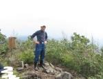 カラ迫岳山開き 白いリンドウ 161