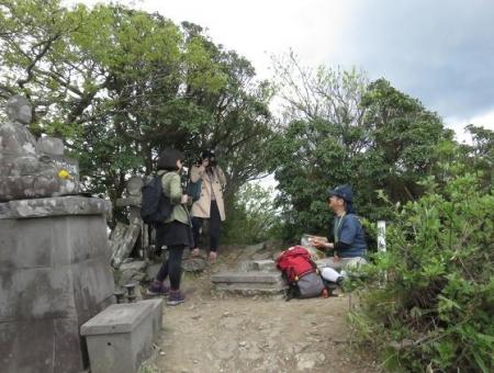 釈迦岳山開き 150