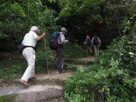 金立山に登る 011