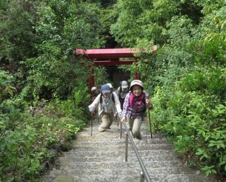 金立山に登る 029