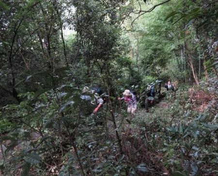 金立山に登る 020